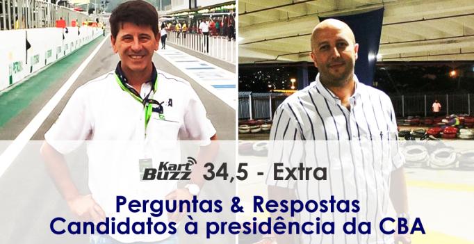 Candidatos à presidência da CBA